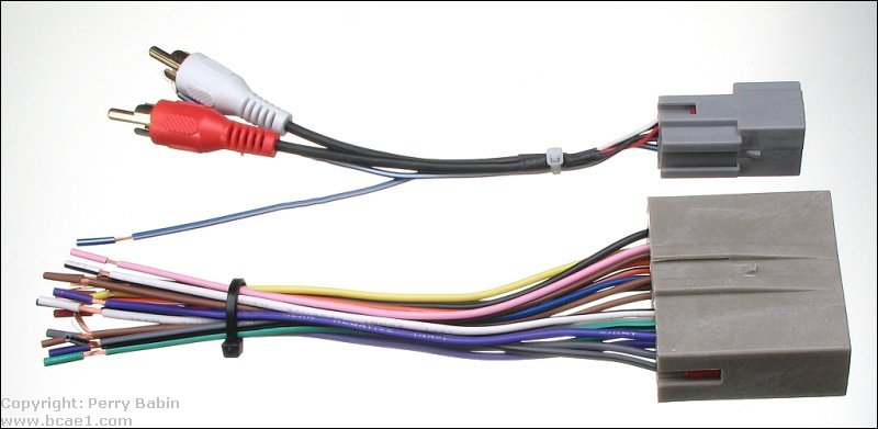 4 channel wiring diagram msd ignition digital 6a anleitung head unit aftermarket harness not all units can produce preamp level output but for those that do the adapter is often included with