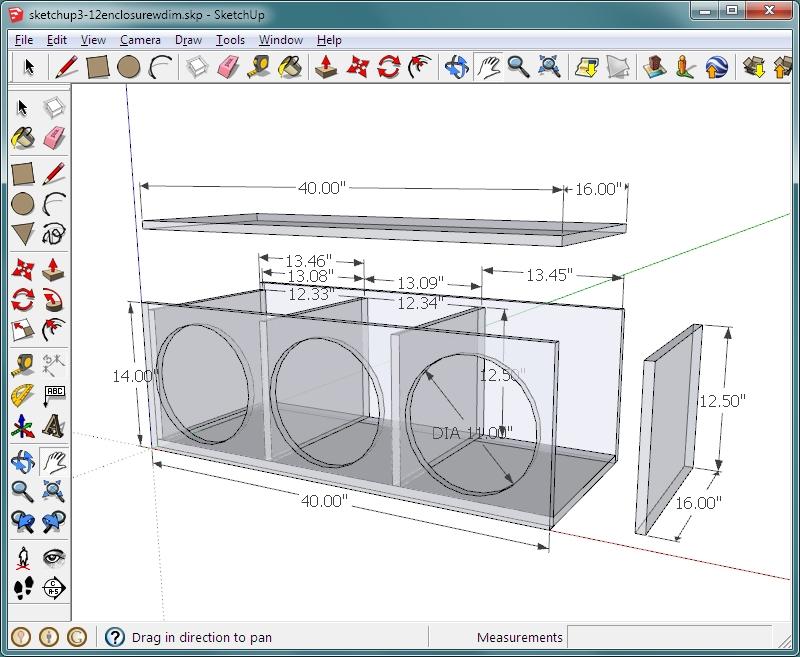speaker cabinet design software free nagpurentrepreneurs. Black Bedroom Furniture Sets. Home Design Ideas