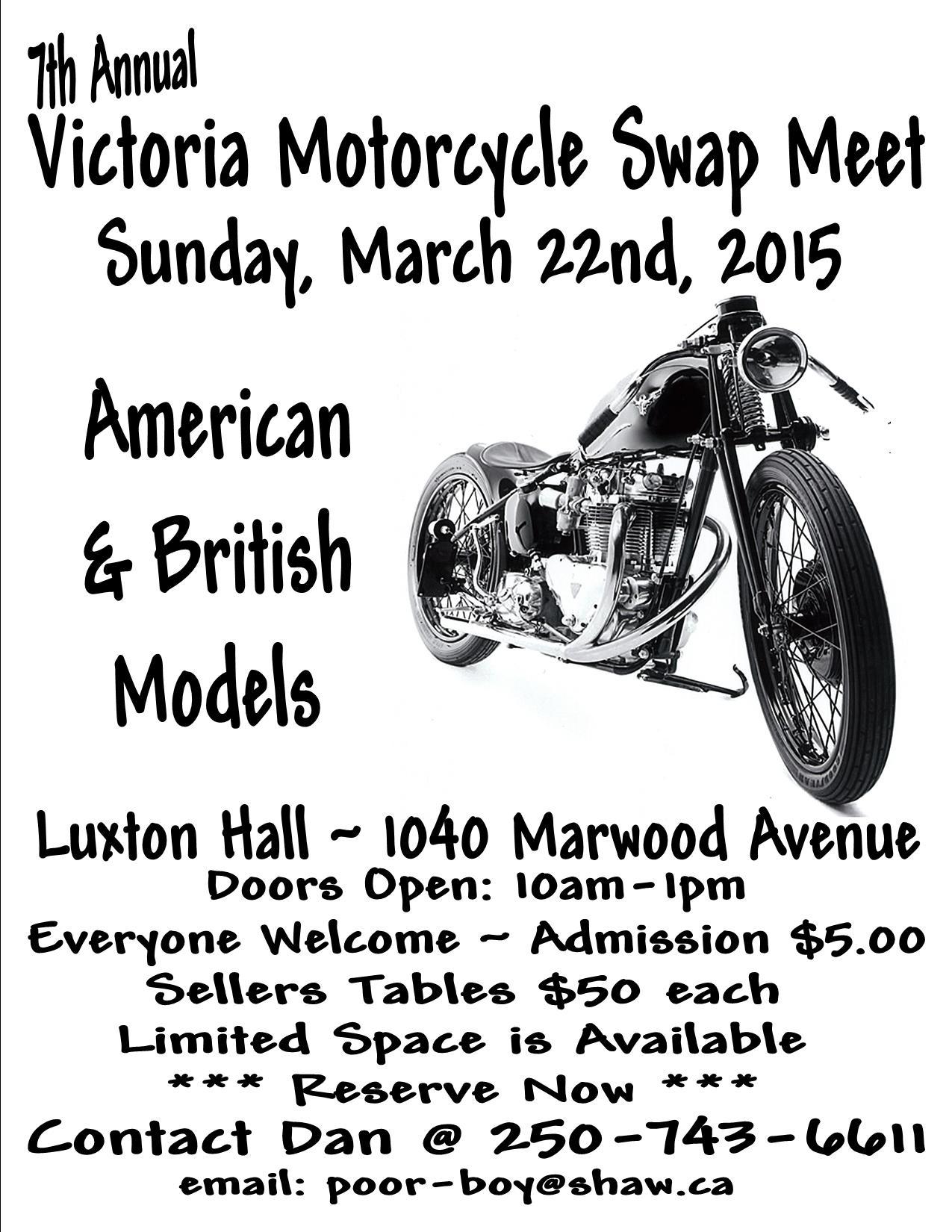 7th Annual Victoria Swap Meet.BCCOM