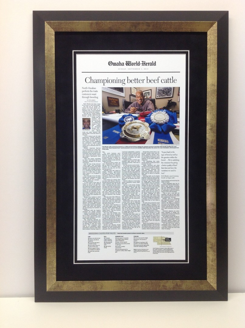 Famous Framed Newspaper Article Illustration - Picture Frame Ideas ...
