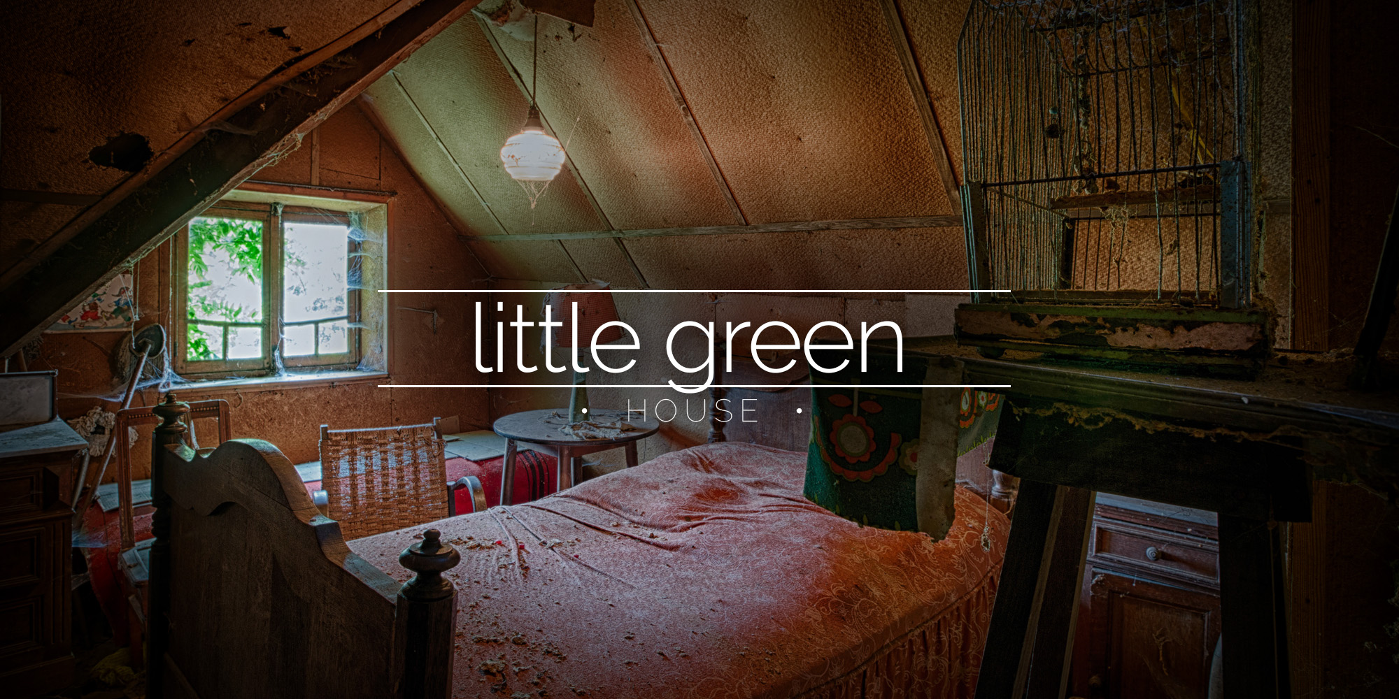 green kitchen cabinet doors sink plug little house, belgium » urbex | behind closed ...