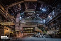 HF4 Blast Furnace, Belgium  Urbex | Behind Closed Doors ...