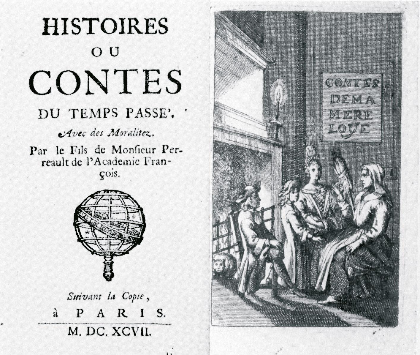 Resultado de imagen de Les Contes de ma mère l'Oye charles perrault