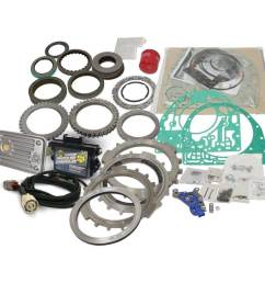 1062227 bd transmission build it parts kit gm duramax allison 2011 2016 stage 4 w pres ctrl [ 1024 x 1024 Pixel ]
