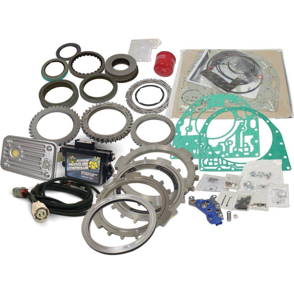 hight resolution of 1062227 bd transmission build it parts kit gm duramax allison 2011 2016 stage 4 w pres ctrl