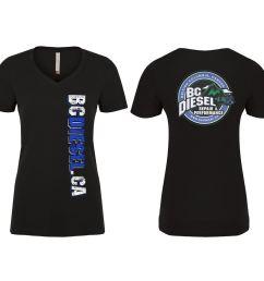 bcdtl bc diesel t shirt ladies short sleeve [ 1500 x 1250 Pixel ]