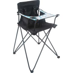Baby Camping High Chair In A Bag With Footrest Wanderer Kids Junior Bcf Hi Res