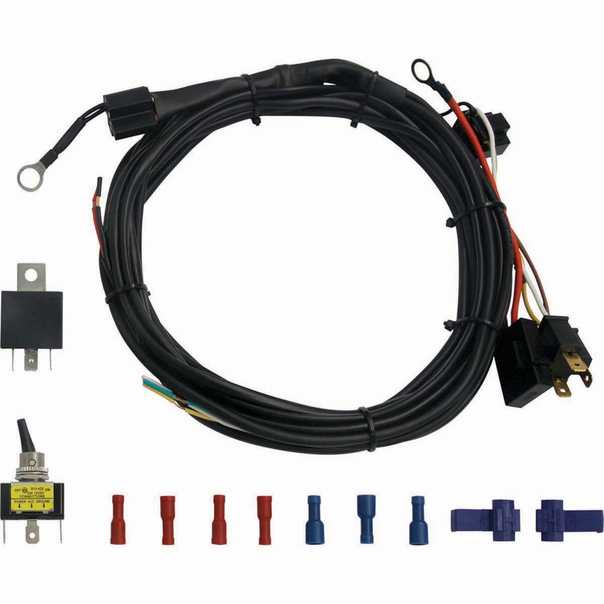 XTM LED Light Bar Wiring Harness | BCF