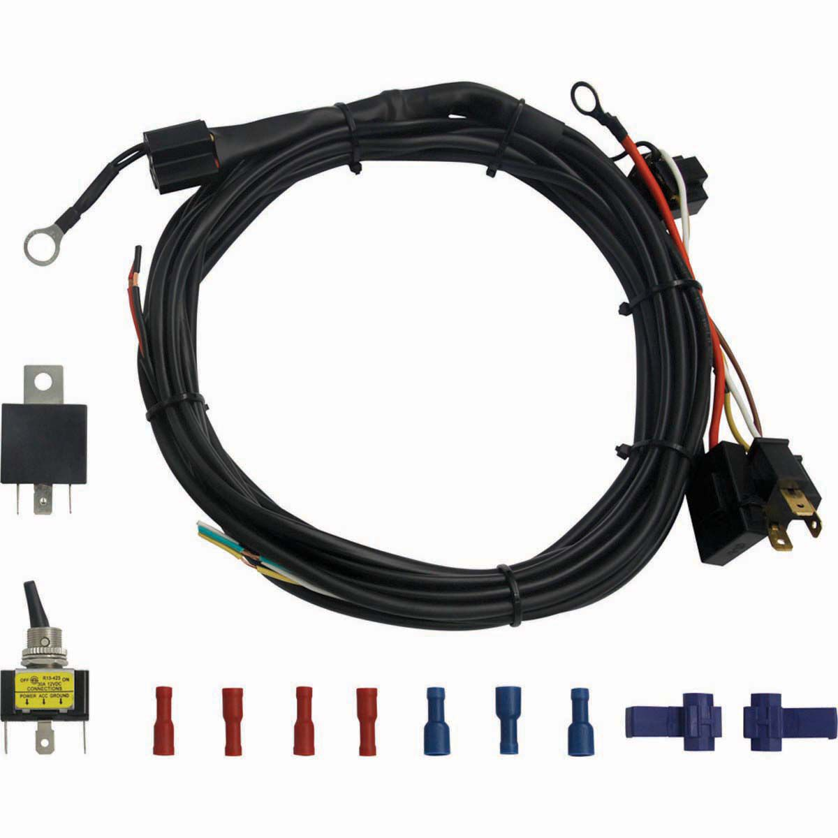 small resolution of xtm led light bar wiring harness bcf hi res