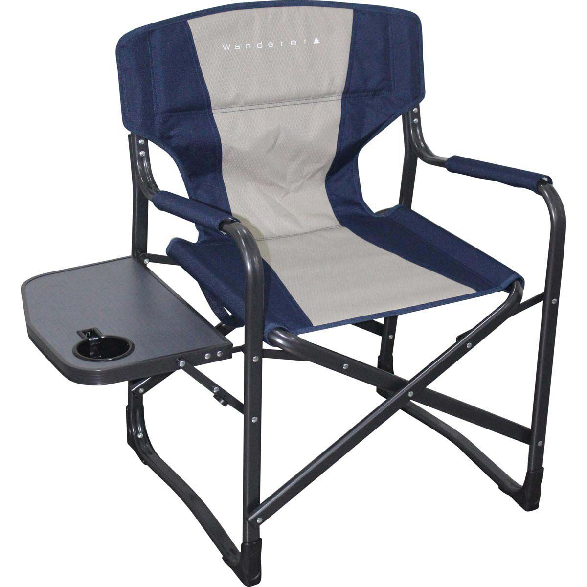fishing chair spare parts comfy lawn chairs beach buy online bcf australia directors with side table hi res
