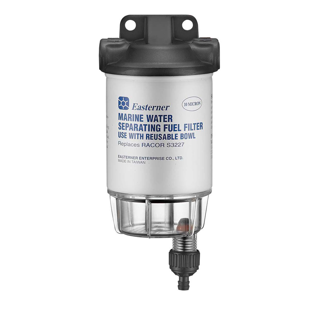 hight resolution of eastener water separating fuel filter with clear bowl bcf hi res
