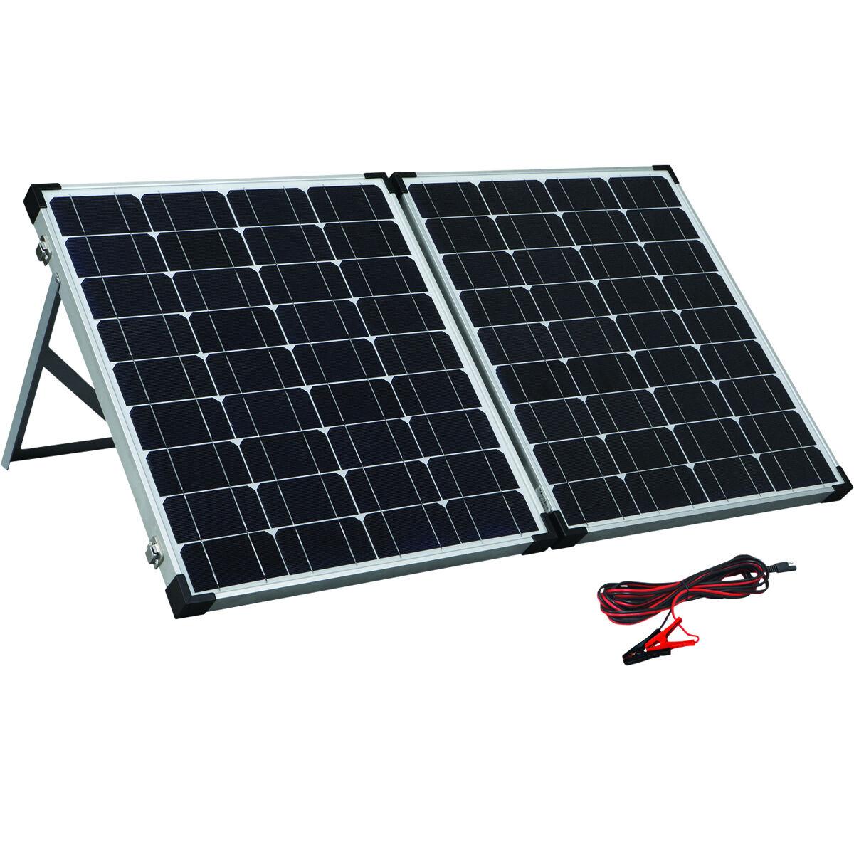 Solution X 100w Folding Solar Panel Kit Bcf