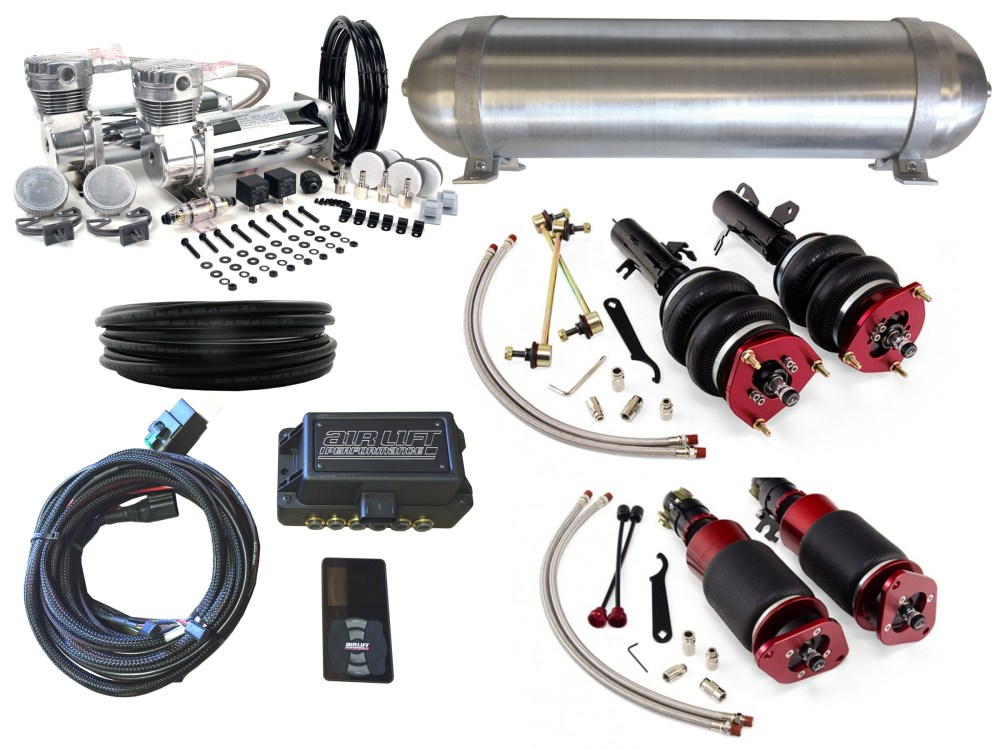 medium resolution of 02 06 mini cooper r50 r52 r53 airbag suspension kit level 4 with air lift performance 3p management