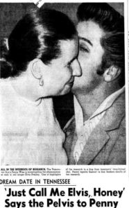 Penny Wise and Elvis Presley