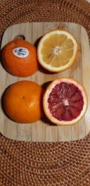 Bitter oranges and blood oranges