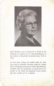Hazel McIntyre - photo and bio
