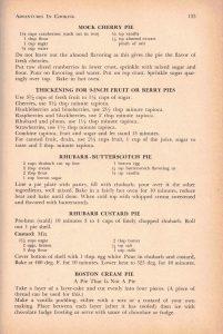 BCWI Centennial Cookbook (1958) - rhubarb pie recipe