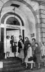 Edith Adams school of cooking