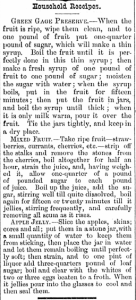 Household receipts - July 24, 1878