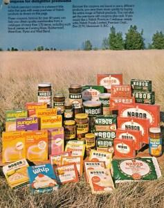 nabob premium products 1973
