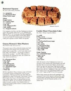granny Herman's shin plaster cookies recipe