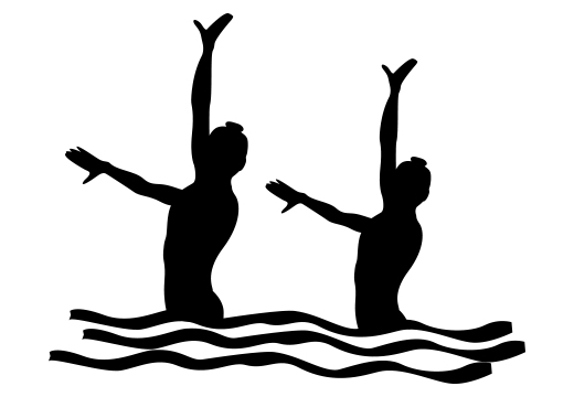 Vancouver Synchronized Swimming Duo wins Gold at BC Games