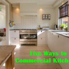 Commercial Kitchens Black Metal Kitchen Cabinets Five Ways To Keep Clean Ajp Building Cleaning Services In Surrey