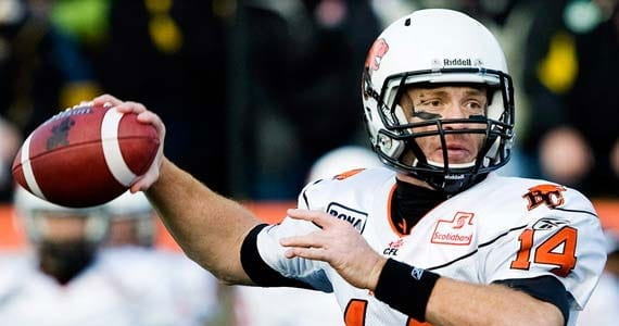 Travis Lulay - Photo Credit: Nathan Denette/Canadian Press