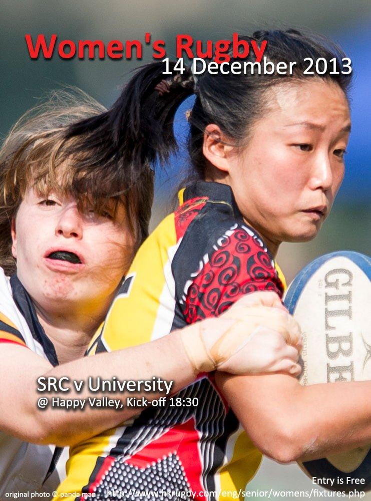 Women's Rugby Fixtures – 14 December, 2013