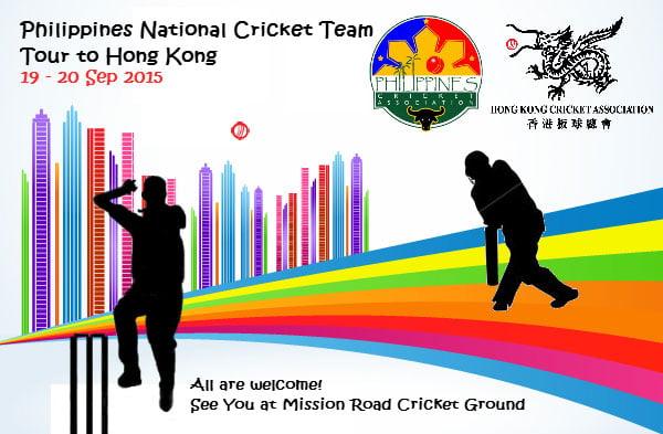 Philippines to Play HK Cricket's Elite