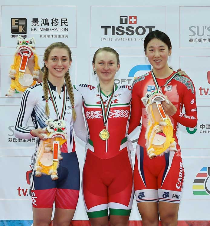 UCI World Cup - HK - Women's Sprint