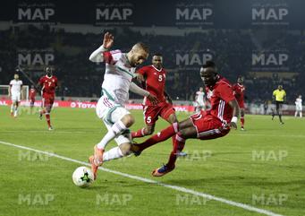 CHAN Maroc-2018 (3ème journée): Le Maroc termine en tête du groupe A, après son nul blanc face au Soudan