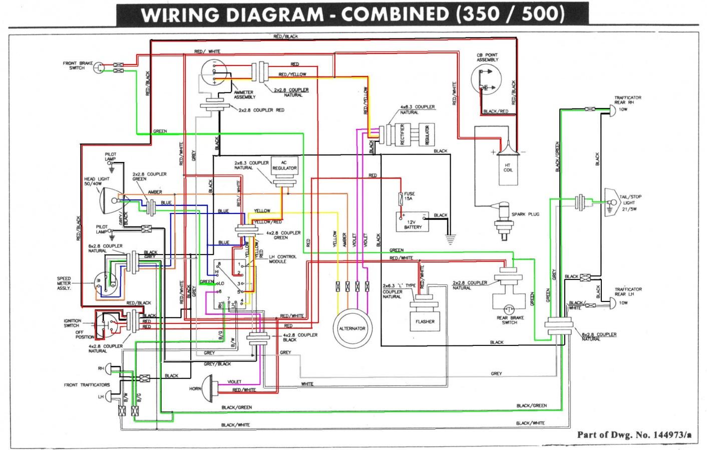 Diagrams#875667 Royal Enfield Bullet Wiring Diagram – Royal