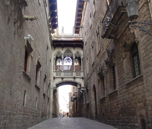 Barcelonas Gotico The Gothic Quarter