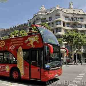 Barcelona Red Bus - City Tour