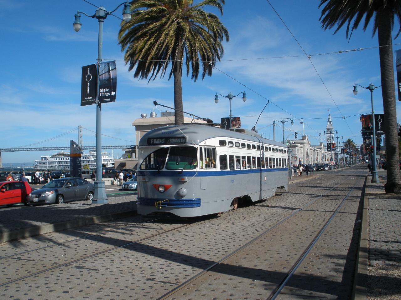 F Line trolley