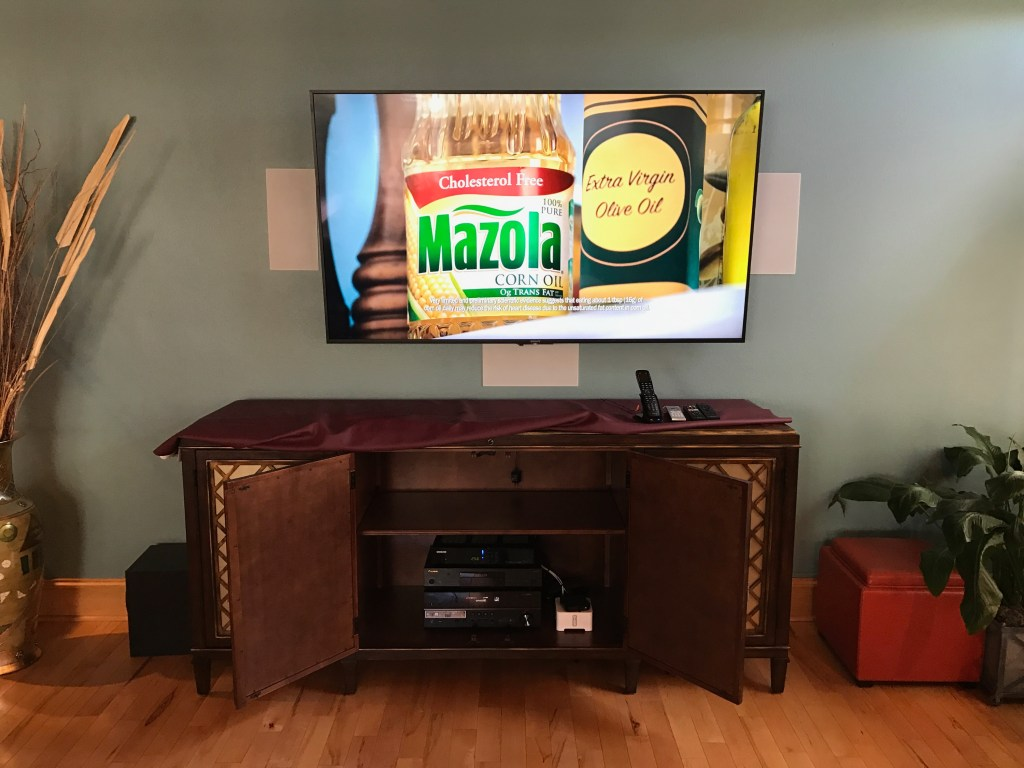 Third Ward Existing Home, Home Theater Installation in a Great Room, Home Audio/Visual, Downtown Milwaukee New Construction and Existing Home Security, Shorewood New Construction and Existing Home Network Cabling, Condo Family Room A/V in Downtown Milwaukee, Southeast Wisconsin, Professional A/V installation