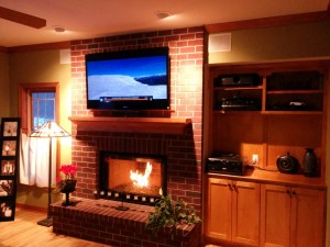 Family Home Entertainment Menomonee Falls, Wisconsin, Germantown Audio visual Specialist, Pioneer Source Equipment, Sharp Televisions, Sharp Projectors, Yamaha Receivers, Yamaha Source Equipment, Universal Remote Control (URC) System Controllers & Whole Home Automation, SpeakerCraft Custom Speakers & Whole Home Automation, 65 inch Sony XBR Rear Projection, LCD home entertainment center