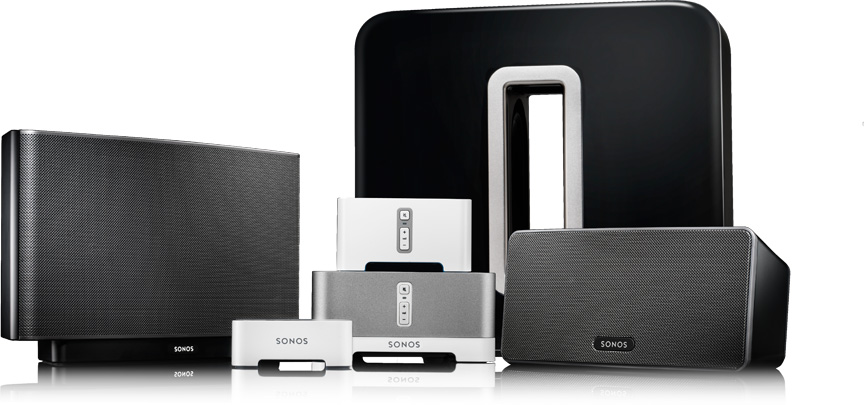 Sonos sounds system for residential home entertainment systems, Brookfield audio visual and electronics specialist, wireless audio for your home