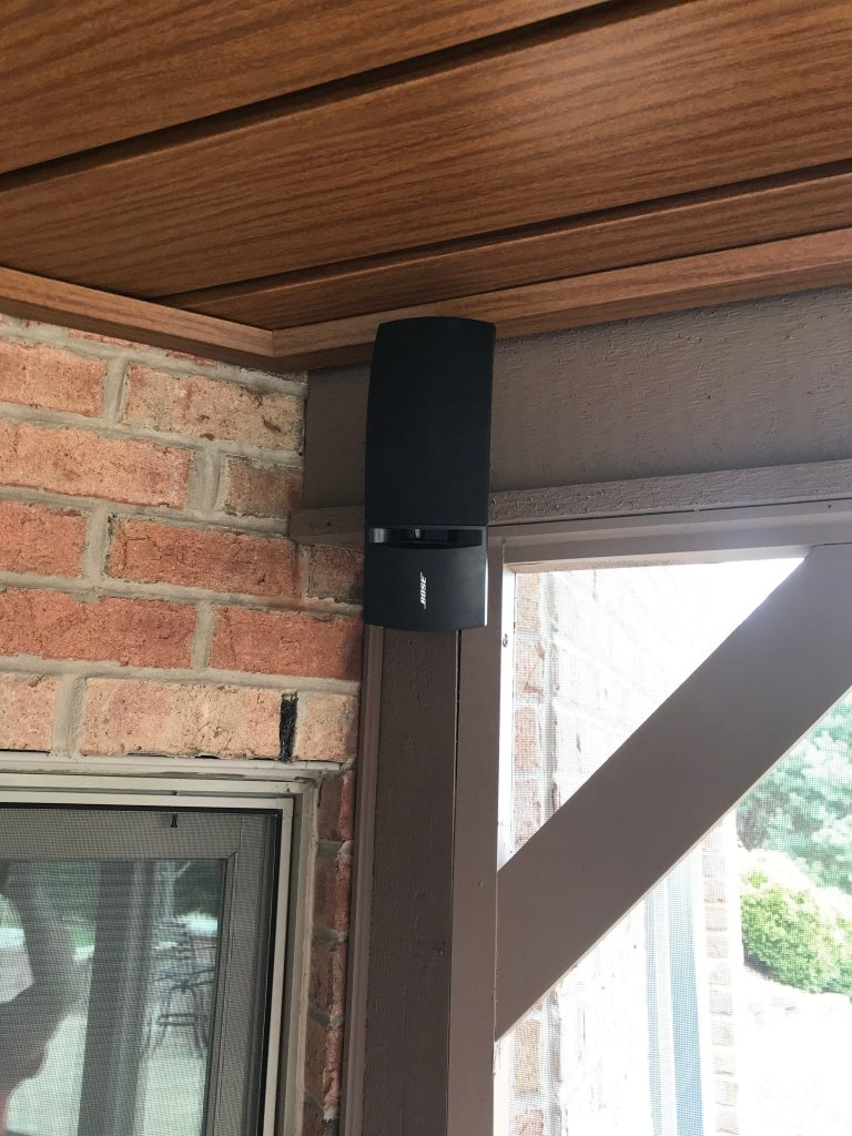 Sussex, Wisconsin, Outdoor Sound System Installation, Bose Sound System
