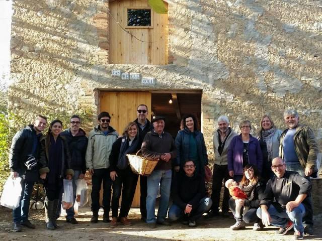 Grupo de bloggers y participantes en #CampRosset (Foto: Gema Santiago)