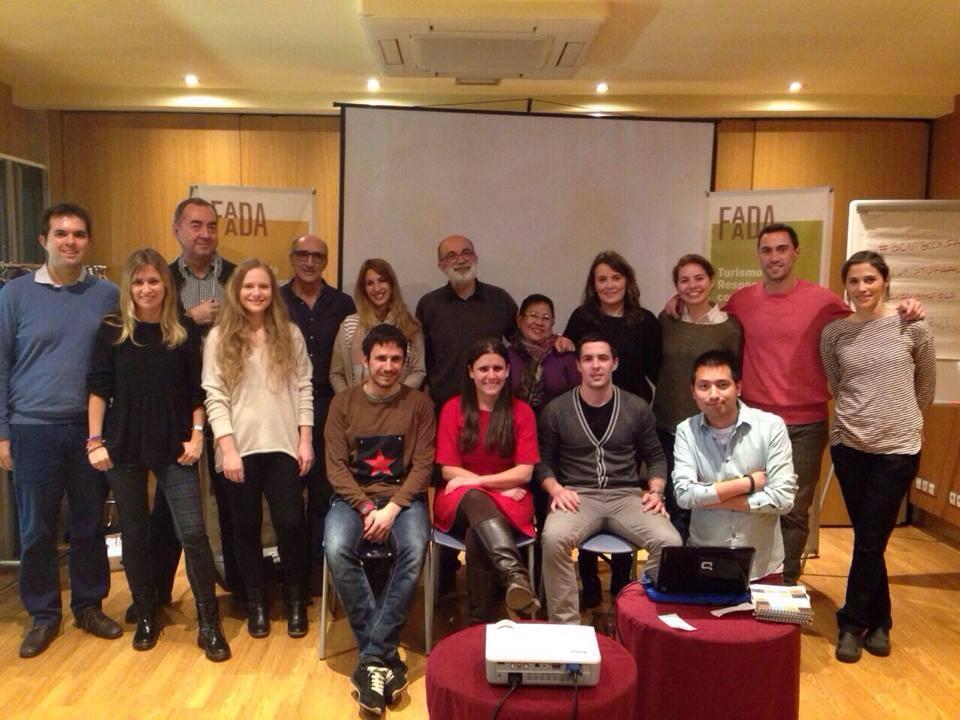 La segunda charla de Faada, turismo responsable con los animales, Evenia Hotels. Febrero 2015