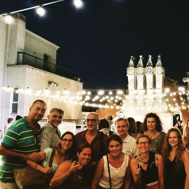 Noche de verano en la Casa Batlló
