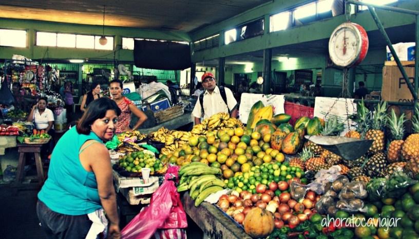 ¿Te vas a negar a comer en éste mercado de Léon, en Nicaragua?