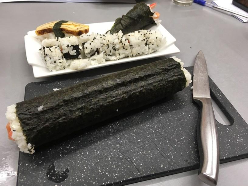 sushi taller de cocina