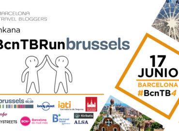 #BcnTBRunBrussels en el Aniversario de Barcelona Travel Bloggers