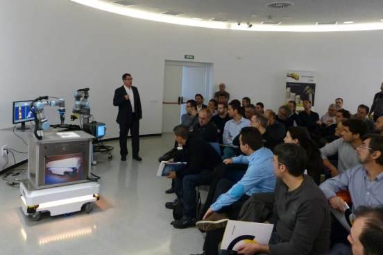 visión artificial robótica colaborativa