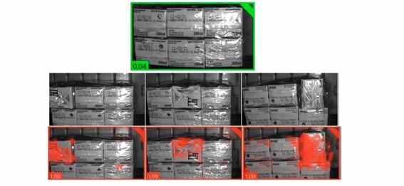 La aplicación detecta mediante inteligencia artificial el correcto empaquetado de briks y de cualquier otro producto lácteo envasado.