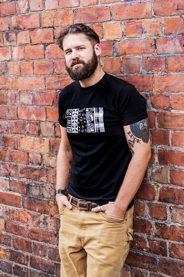 Male Black Tshirt