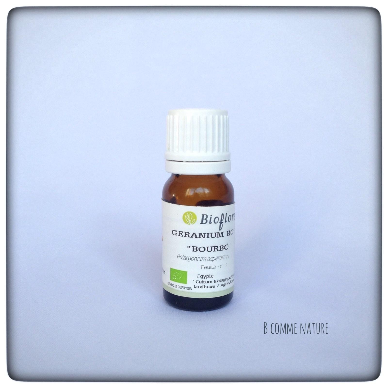 Huile Essentielle Géranium Rosat BcommeNature